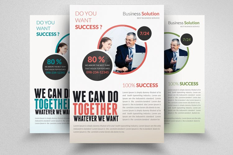 Investment Services Flyer Template example image 1