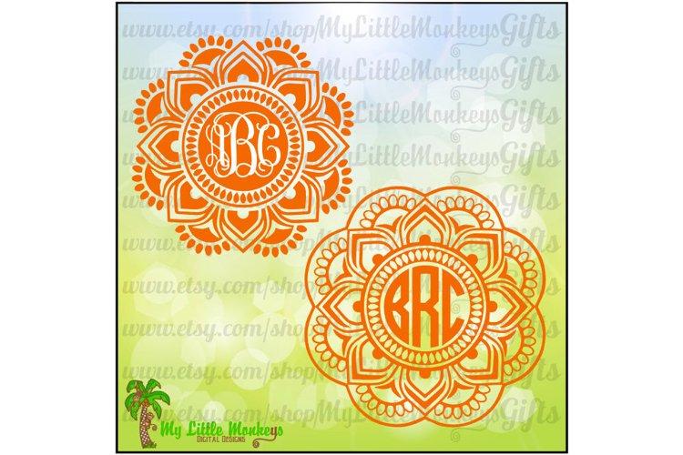 Mandala Monogram Base
