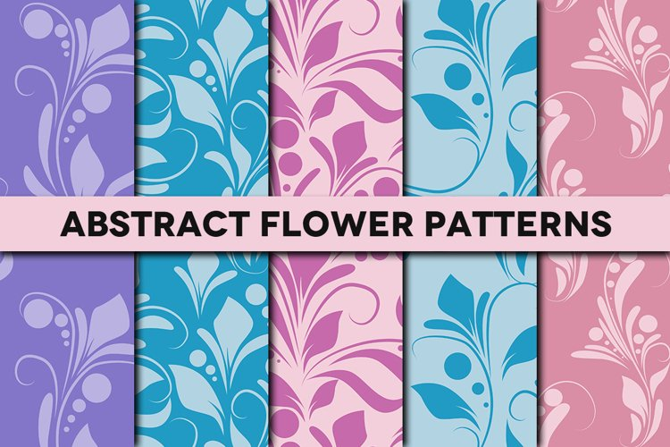 Abstract Flower Patterns