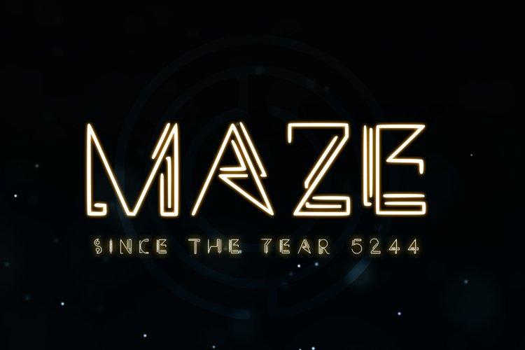 Maze example image 1