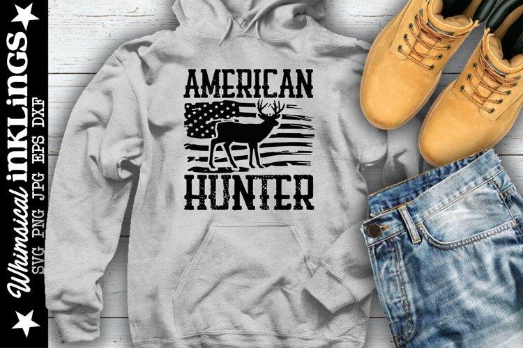 American Hunter SVG example image 1