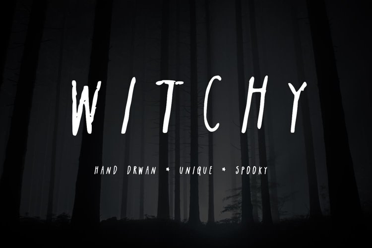 Witchy| A Spooky Sans-Serif example image 1