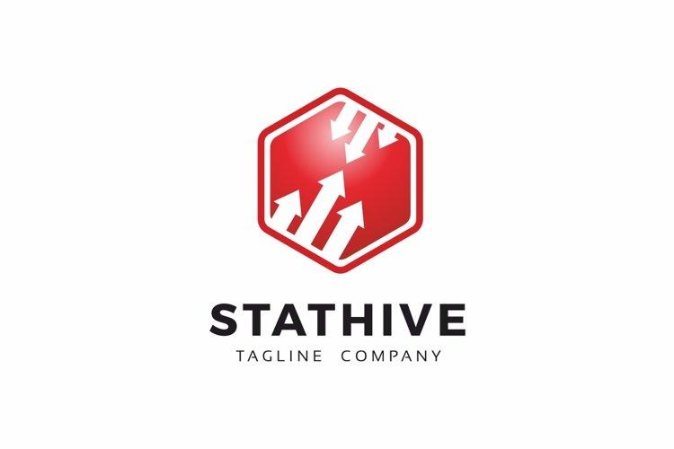Stat Hive Data Analytic Logo example image 1