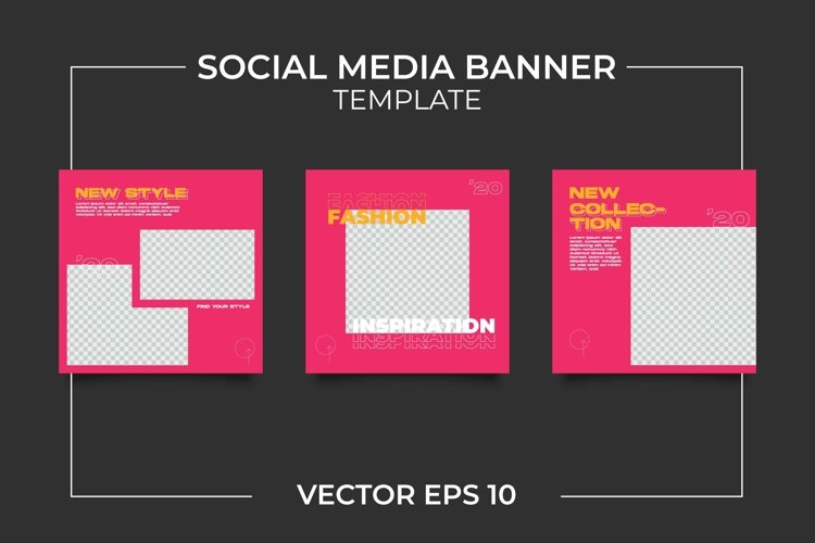 Fashion Instagram Feeds Template example image 1