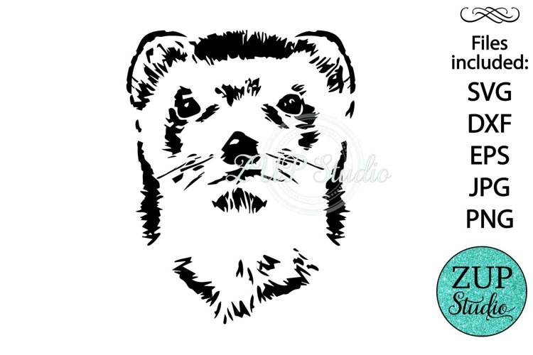 Otter Face design 531 example image 1