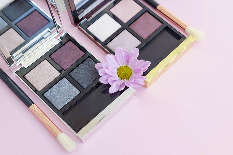 creative cosmetics flat lay example image 1