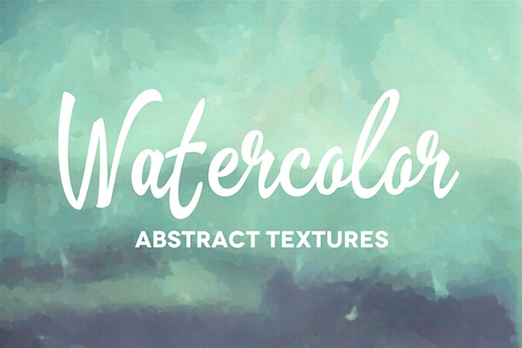 50 Abstract Watercolor Textures example image 1