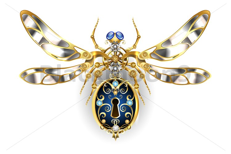 Mechanical Insect ( Steampunk ) example image 1