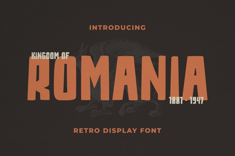 Romania Font example image 1