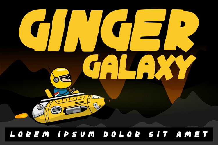 Ginger Galaxy example image 1