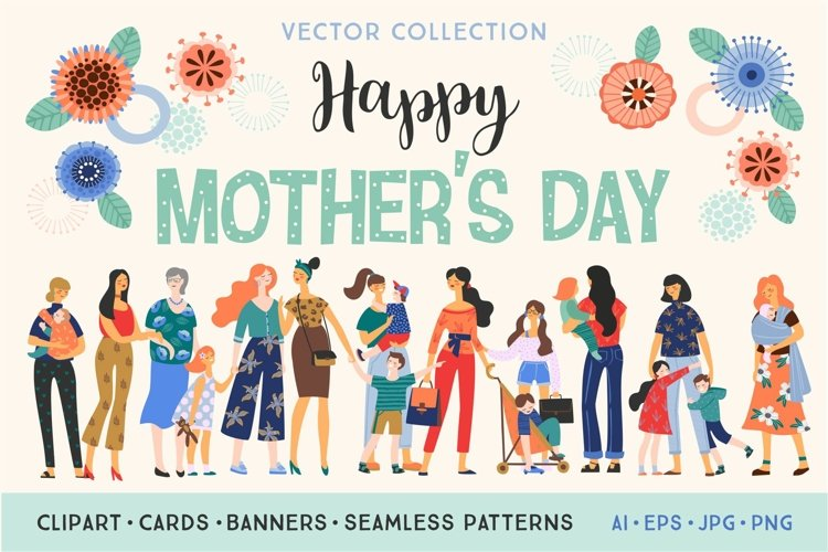 Happy Mothers Day collection.