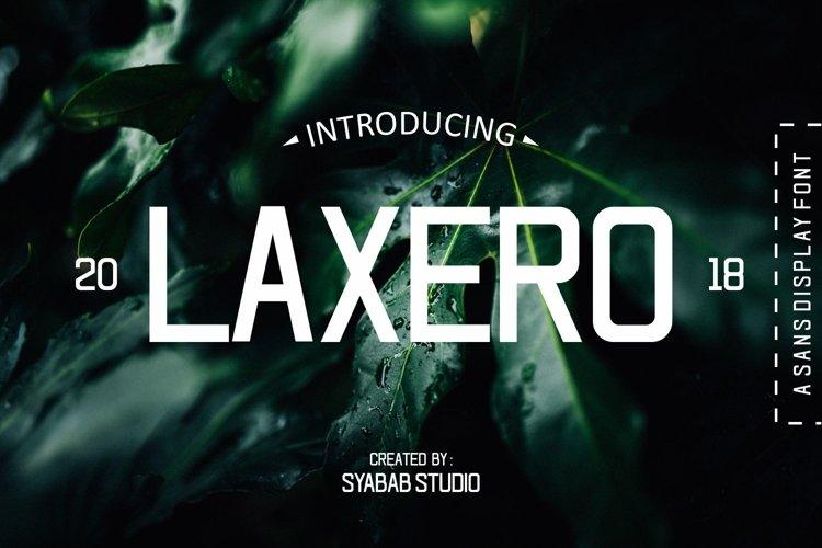 LAXERO example image 1