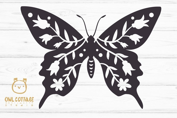 Butterfly SVG, butterfly PNG, butterfly silhouette example 1