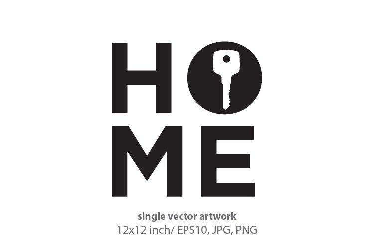 home key, vector