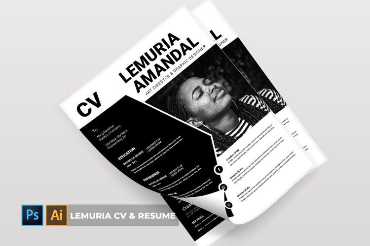 Lemuria | CV & Resume example image 1