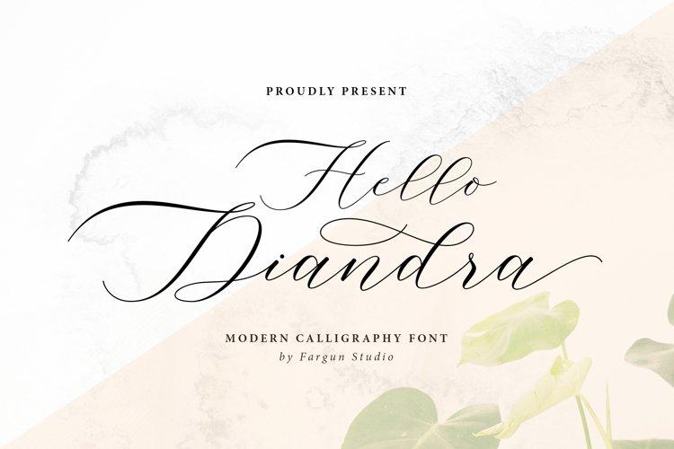 Hello Diandra example image 1