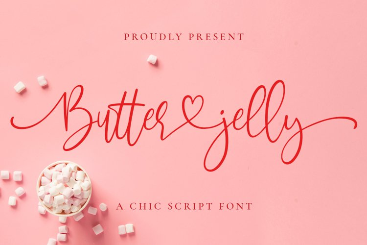 Butter Jelly Script example image 1