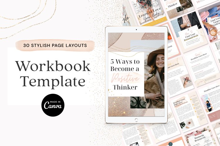eBook Workbook Canva Template