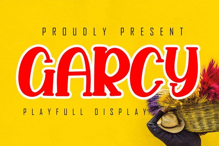 Garcy Playfull Display example image 1