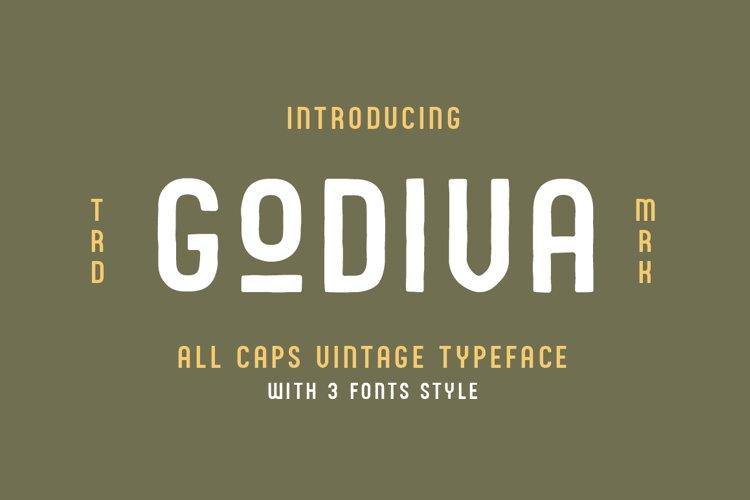 Godiva Vintage Font Family