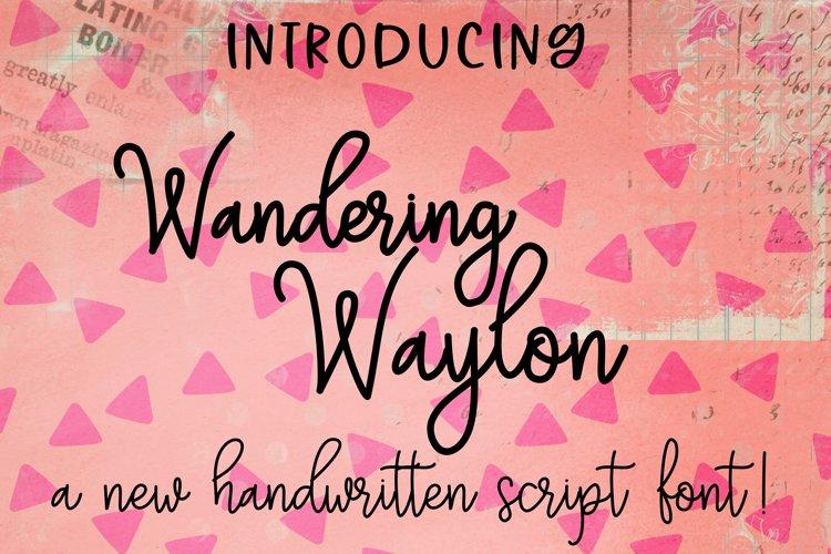 Wandering Waylon example image 1