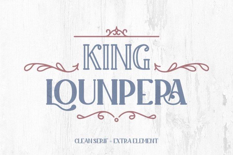 King Lounpera example image 1