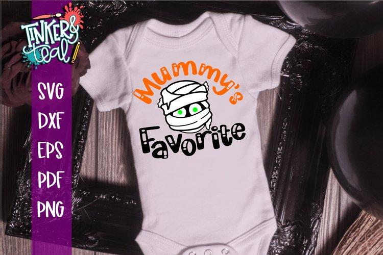 Mummys Favorite Halloween SVG example image 1