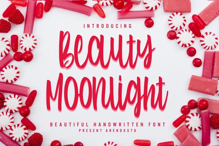 Beauty Moonlight - Cute Font example image 1