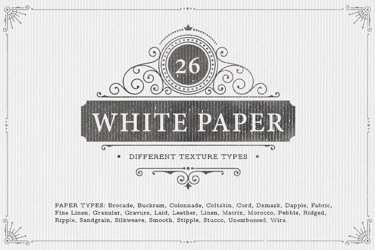 26 White Paper Background Textures example image 1