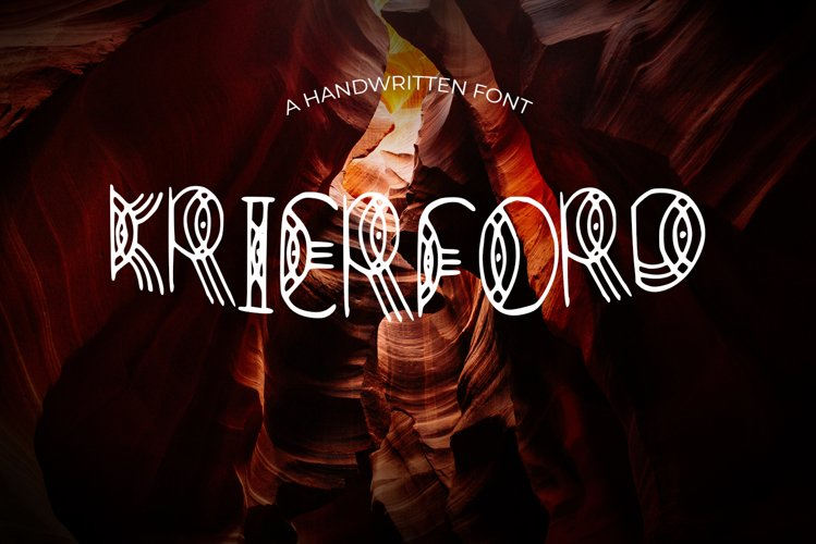 Krierford Font example image 1