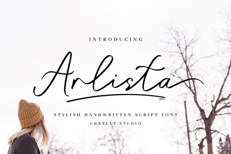 Arlista Script