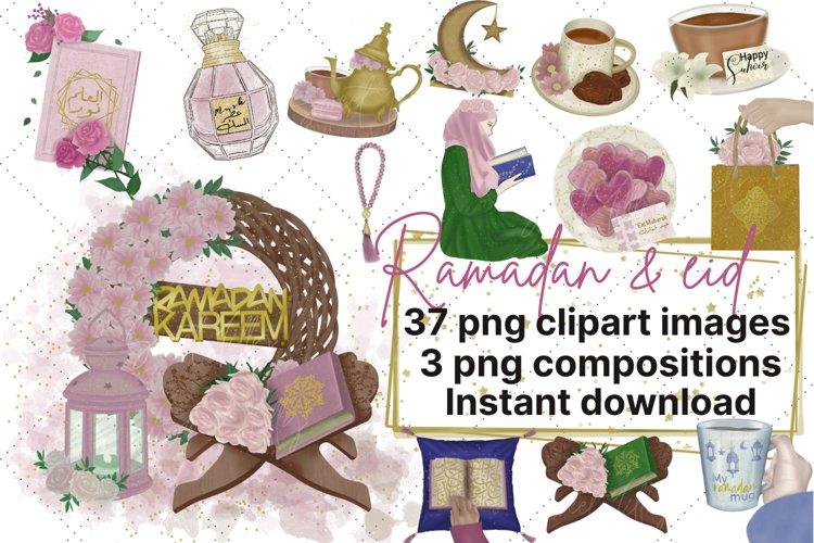 Ramadan clipart - eid clipart - islamic arabic designs
