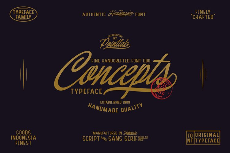 Concepts Font Family example image 1