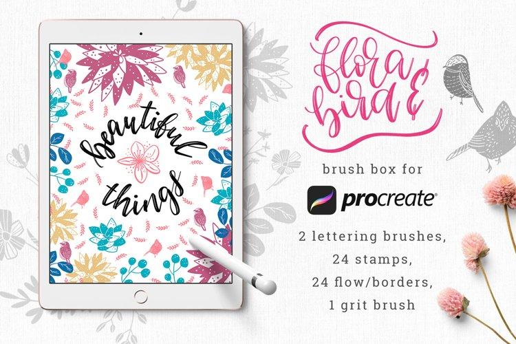Flora&Bird - Brush Box for Procreate