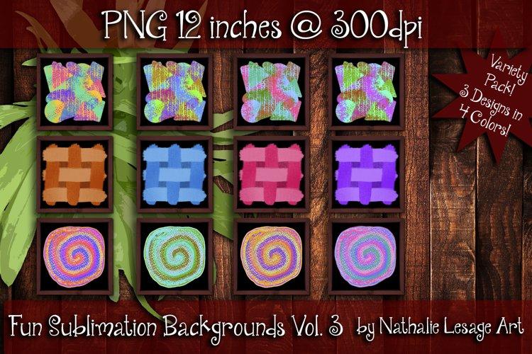 Fun Sublimation Backgrounds Vol 3 Colorful Backsplash Images