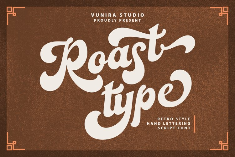 Roastypes | Handlettering Script Font example image 1