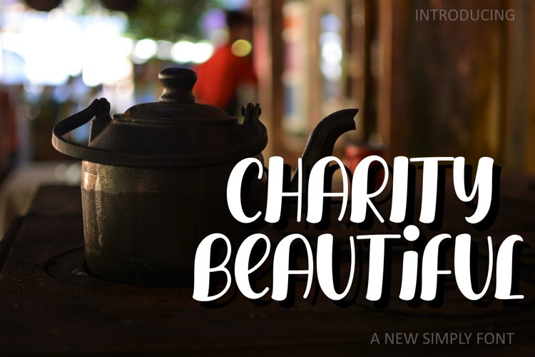 CHARITY BEAUTIFUL example image 1