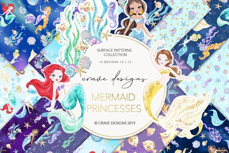 Mermaid Princesses Patterns
