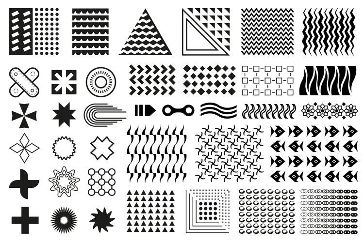 Memphis design elements example image 1