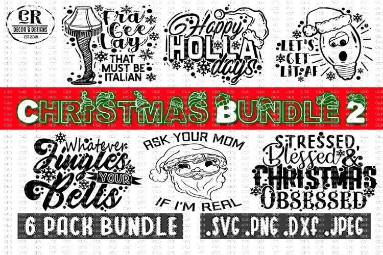 Christmas Bundle #2 , Christmas Bundle Svg example image 1