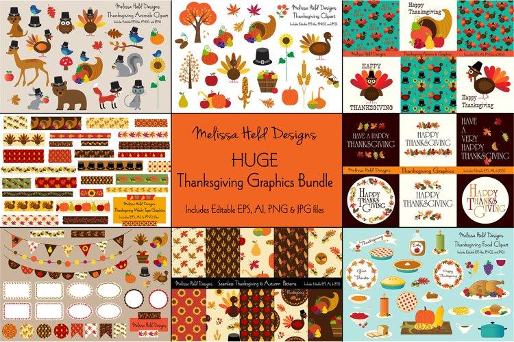 Thanksgiving Graphics Bundle