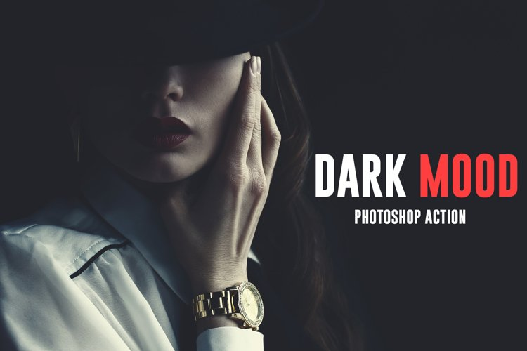 Dark Mood Photoshop Action example image 1