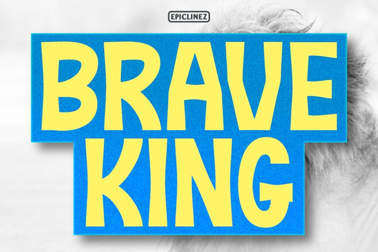 Brave King - Display Font example image 1