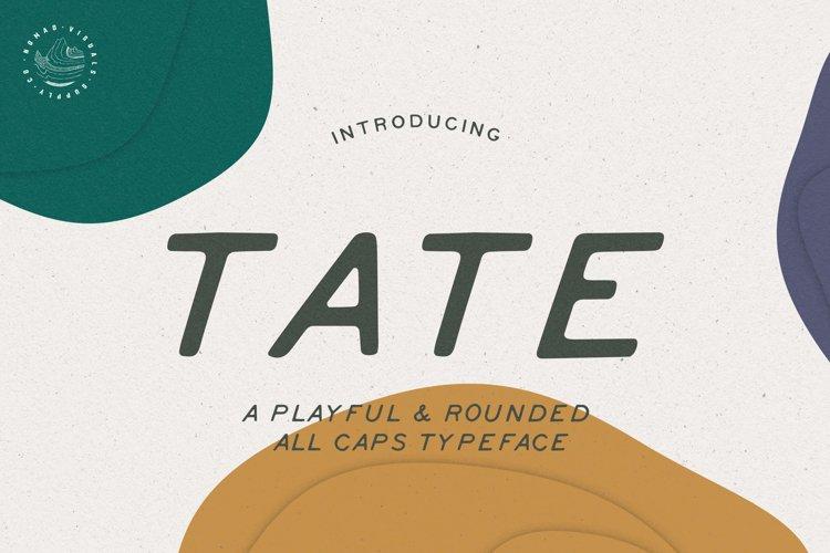 Tate Font