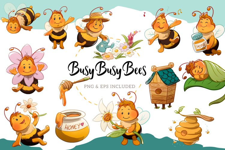 Busy Bee Illustrations