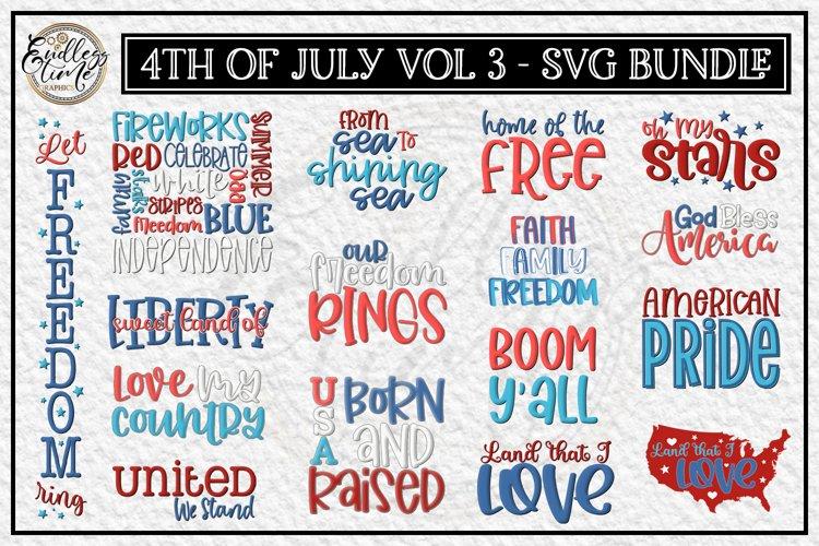 4th of July Bundle Volume 3 | A Red White & Blue SVG Bundle
