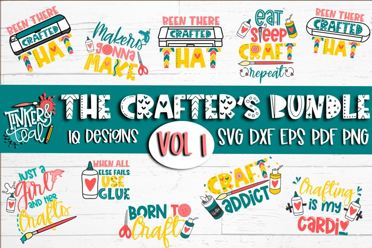 Crafters SVG Bundle - SVG Bundle