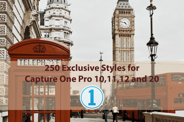 250 Exclusive Styles for Capture One 10,11,12,20 example image 1