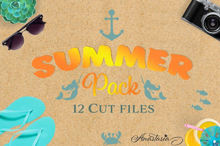 Summer Cut Files Pack - Limited Promo! example image 1