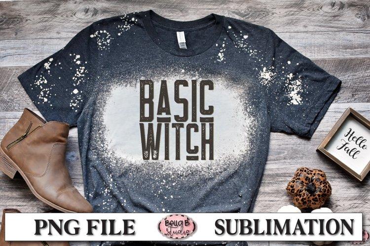 Basic Witch Sublimation Design, Vintage Halloween example image 1